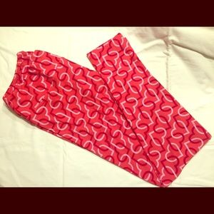 Lularoe Valentine's Day Leggings - Tall & Curvy